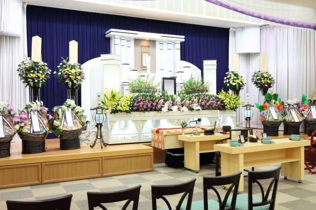 四ツ木斎場の家族葬事例のイメージ