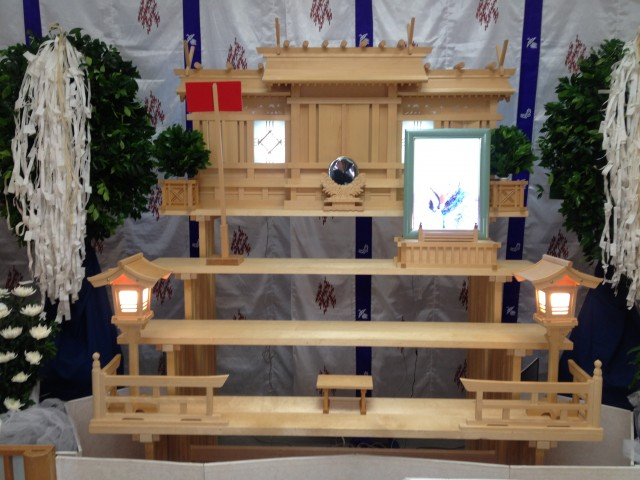 神道の祭壇