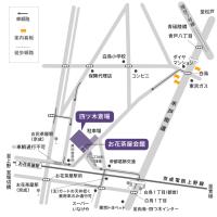 四ツ木の斎場の地図